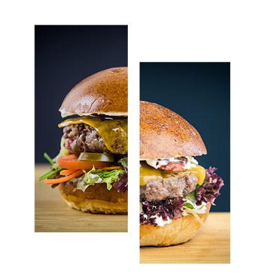 Ukázka burgerů
